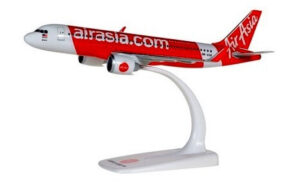 Airbus A320neo Air Asia Herpa Wings model samolotu w skali 1:200