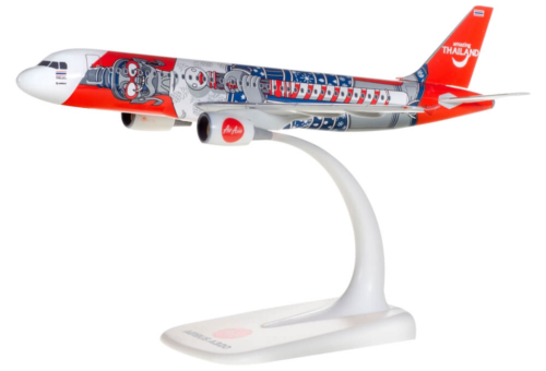 Airbus A320 Air Asia Amazing Thailand Herpa Wings 612128 model samolotu w skali 1:200