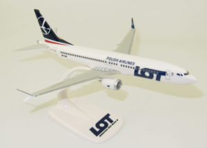 Boeing 737 MAX 8 LOT Polish Airlines SP-LVA model samolotu w skali 1:200