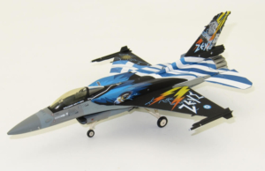 Hellenic Air Force Lockheed Martin F-16C Mira Zeus Demo Team Herpa Wings 580380 model samolotu 1:72