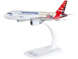 "Airbus A319 Czech Airlines ""Prague - City of Magic"" OK-NEP model samolotu w skali 1:200"