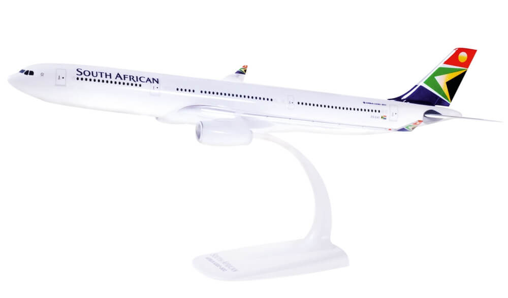 Airbus A330-300 South African Airways ZS-SXI model samolotu w skali 1:200Airbus A330-300 South African Airways ZS-SXI model samolotu w skali 1:200