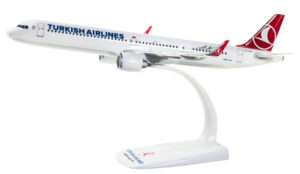 Airbus A321neo Turkish Airlines TC-LSA model samolotu w skali 1:200