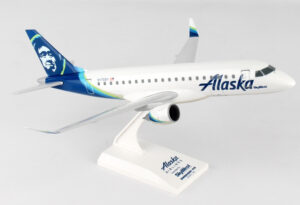 Embraer 175 Alaska (operated by SkyWest) N170SY model samolotu w skali 1:100