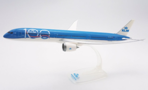 "Boeing 787-10 KLM Royal Dutch Airlines ""100th Anniversary"" PH-BKA model samolotu w skali 1:200"