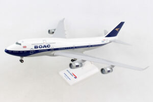 "Boeing 747-400 BOAC / British Airways ""100 year anniversary"" G-BYGC model samolotu w skali 1:200"