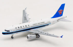 Airbus A319-132 China Southern B-6207 model samolotu Inflight w skali 1:200
