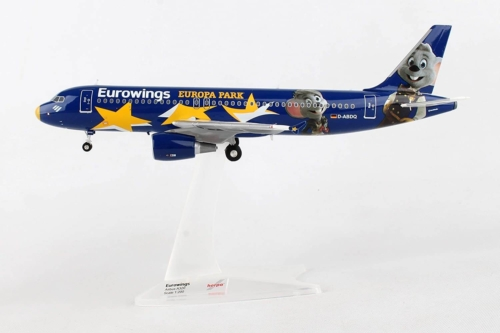 Airbus A320 Eurowings Europa Park D-ABDQ w skali 1:200 Herpa 558808