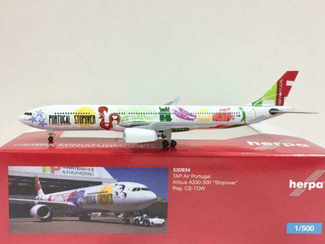 Airbus A330-300 TAP Air Portugal Stopover w skali 1:500