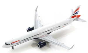 Airbus A321NEO British Airways w skali 1:200 G2BAW802