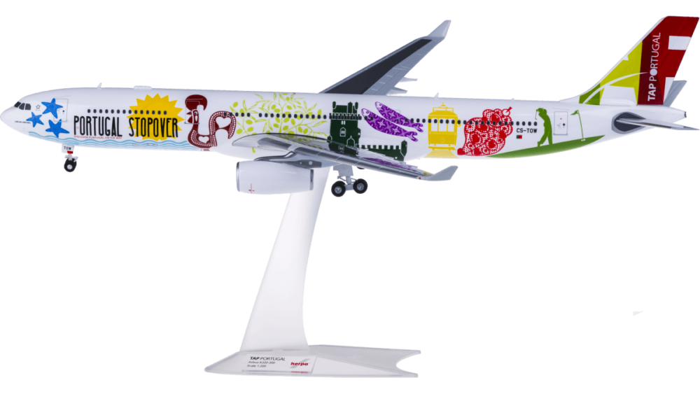 Airbus A330-300 TAP Portugal Stopover w skali 1:200 Herpa 558945