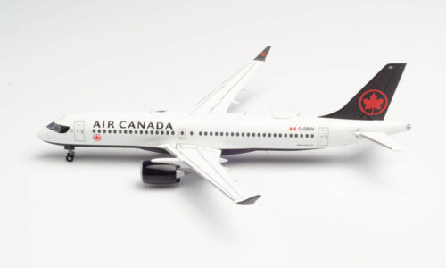 Airbus A220-300 Bombardier Air Canada w skali 1:200 Herpa 570619
