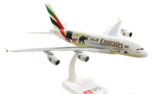 Airbus A380-800 Emirates United for Wildlife w skali 1:250