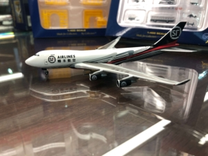 Boeing 747-400ERF SF Airlines China Cargo w skali 1:500 Herpa 534222