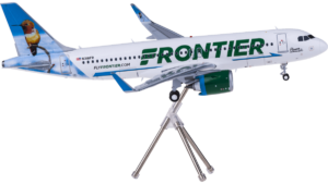 Airbus A320neo Frontier Airlines N318FR G2FFT897 model w skali 1:200