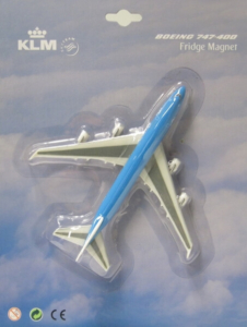 220259 Fridge Magnet: Boeing 747-400 KLM