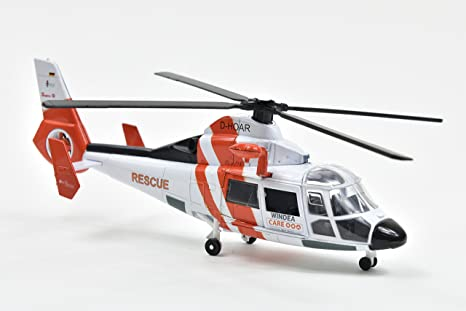 """Airbus Helikopter Dauphin HH-65A """"Die Johanniter"""" w skali 1:48 New Ray"""