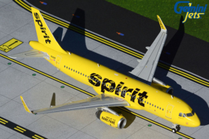 Airbus A320-200 Spirit Airlines Scale w skali 1:200 G2NKS550
