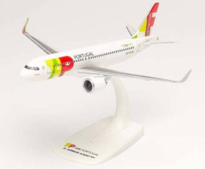 Airbus A320neo TAP Air Portugal w skali 1:200 Herpa 612593