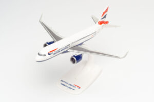 Airbus A320neo British Airways w skali 1:200 Herpa 612746