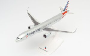 A321neo American Airlines N400AN w skali 1:200 Herpa 613019