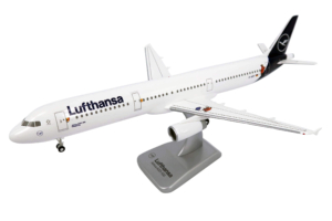 """Airbus A321-100 Lufthansa New Livery """"Mouse & Elephant"""" w skali 1:200 LW200DLH016"""