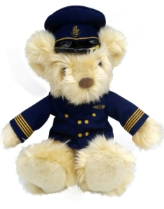 G10PB144 Pilot Bear Emirates