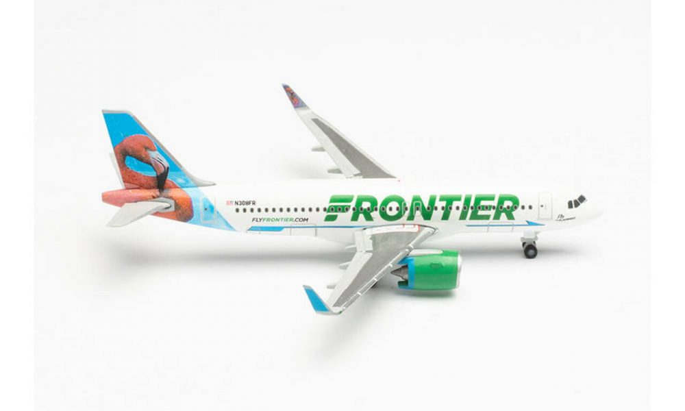 Airbus A320neo Frontier Flamingo 1:500 HER534697
