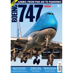 Airliner World Boeing 747 - Jumbo: From Pan Am to Pandemic Czasopismo
